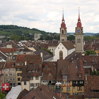 [Translate to Englisch:] Top of Winterthur Stadkirche Schweiz